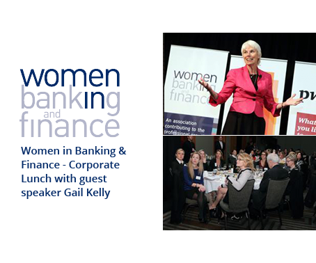 Women in Banking - Corporate Lunch with guest speaker Gail Kelly